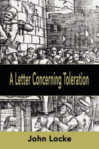 A Letter Concerning Toleration 9781599867625