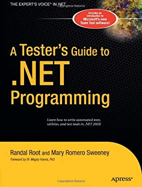 A Tester's Guide to .Net Programming 9781590596005