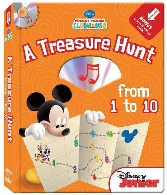 A Treasure Hunt from 1 to 10 [With CD (Audio)] 9781590698945