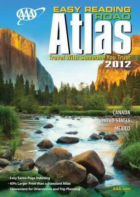 AAA Easy Reading Road Atlas 9781595084415