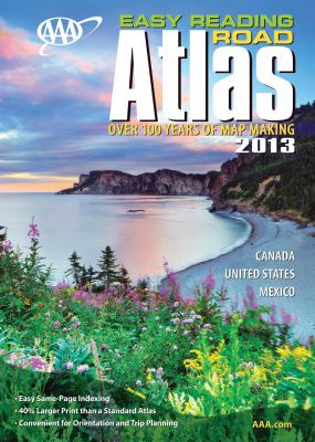 AAA Easy Reading Road Atlas 2013 9781595085122