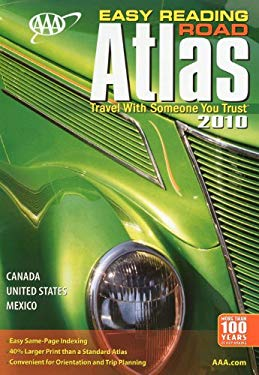 AAA Easy Reading Road Atlas 9781595083418