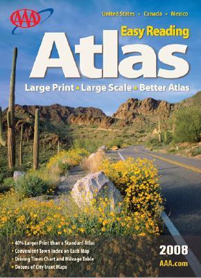 AAA Easy Reading Road Atlas 9781595082138