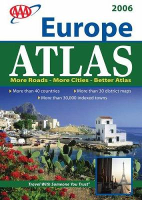 AAA Europe Road Atlas 9781595081292