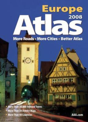 AAA Europe Road Atlas 9781595082541