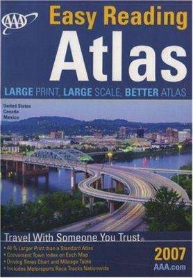 AAA North American Road Atlas 2007 9781595081629