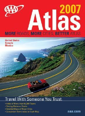AAA North American Road Atlas: United States, Canada, & Mexico 9781595081605