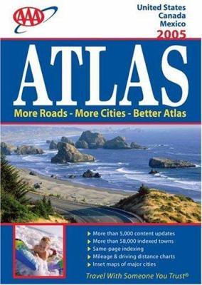 AAA North American Road Atlas 9781595080127