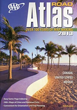 AAA Road Atlas 2013 9781595085115