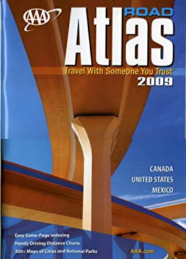 AAA Road Atlas: Canada, United States, Mexico 9781595082725
