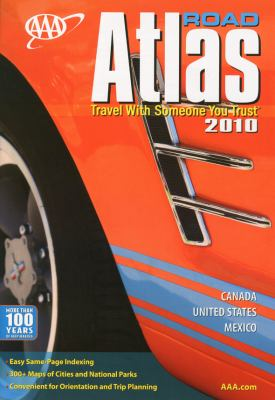 AAA Road Atlas: Travel with Someone You Trust 9781595083401