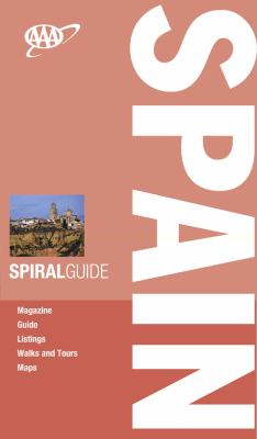 AAA Spiral Guide Spain 9781595084361