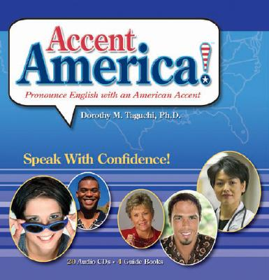 Accent America!: Pronounce English with an American Accent [With 20 CD's] 9781591252559