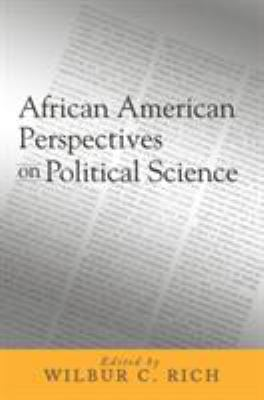 African American Perspectives on Political Science 9781592131099