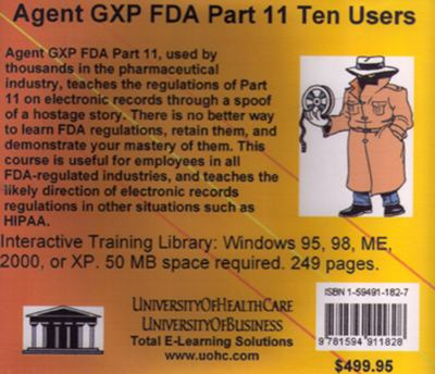 Agent Gxp FDA Part 11, 10 Users
