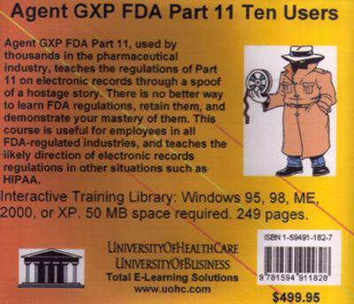 Agent Gxp FDA Part 11, 10 Users