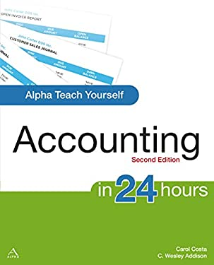 Alpha Teach Yourself Accounting in 24 Hours 9781592575022