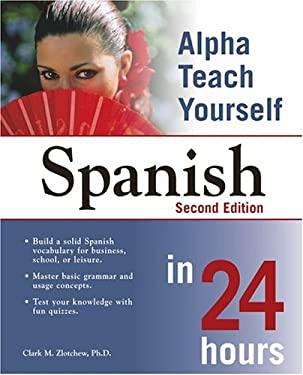 Alpha Teach Yourself Spanish in 24 Hours 9781592572885