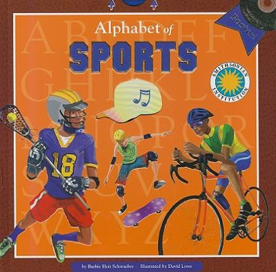 Alphabet of Sports [With Poster and CD (Audio)] 9781592497690