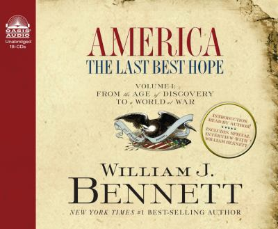 America: The Last Best Hope 9781598591316