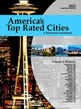 America's Top Rated Cities, Volume 2: Western: A Statistical Handbook 9781592378593