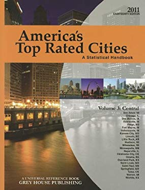 America's Top Rated Cities, Volume 3: Central: A Statistical Handbook 9781592377503