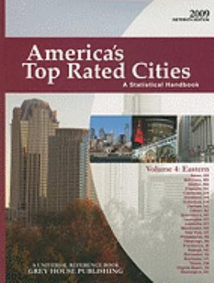 America's Top Rated Cities, Volume 4: Eastern Region: The Statistical Handbook 9781592374144