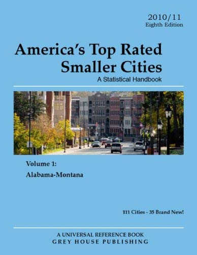 America's Top-Rated Smaller Cities 2010 9781592375509
