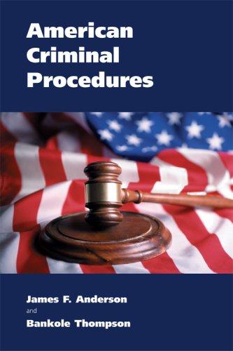 American Criminal Procedures 9781594602375