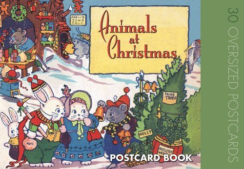 Animals at Christmas: Postcard Book 9781595833945