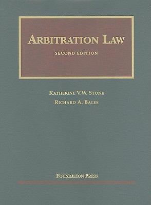 Arbitration Law 9781599416465