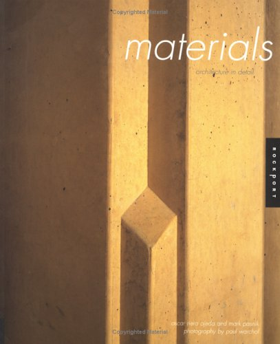 Architecture in Detail: Materials 9781592531325