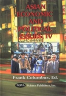 Asian Economic and Political Issues 9781590330982
