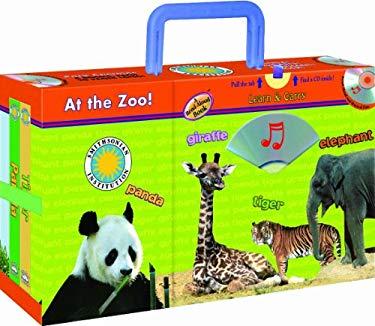 At the Zoo!: Panda/Giraffe/Tiger/Elephant [With CD] 9781590695012
