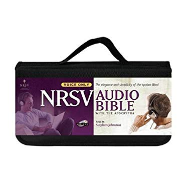 Audio Bible-NRSV 9781598569513