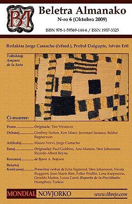 Beletra Almanako 6 (Ba6 - Literaturo En Esperanto) 9781595691446