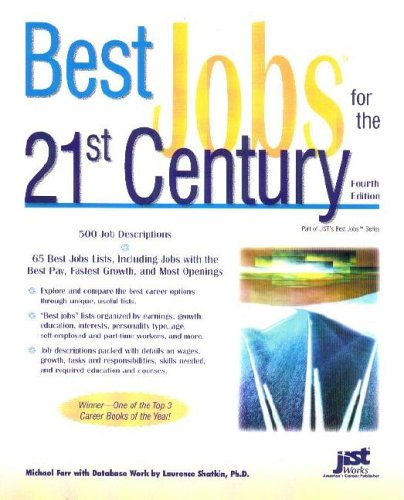 Best Jobs for the 21st Century 9781593572402