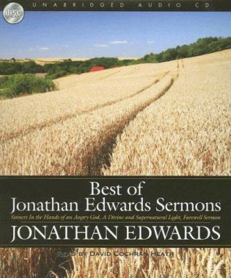 Best of Jonathan Edwards Sermons 9781596444652