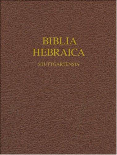 Biblia Hebraic Stuttgartensia-FL-Wide Margin 9781598561999