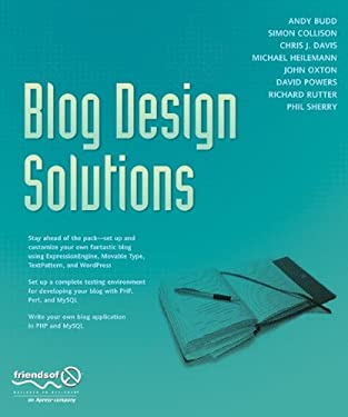 Blog Design Solutions 9781590595817