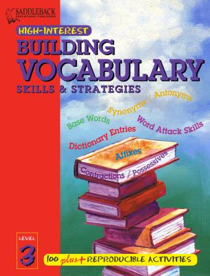 Building Vocabulary Skills and Strategies Level 3 (Enhanced eBook) 9781599057965