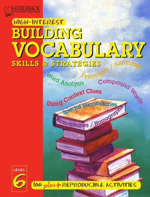 Building Vocabulary Skills and Strategies Level 6 (Enhanced eBook) 9781599057996