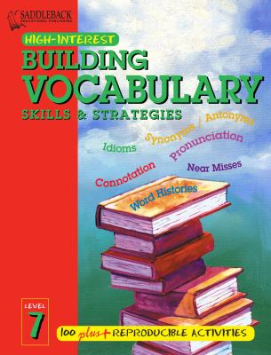 Building Vocabulary Skills and Strategies Level 7 (Enhanced eBook) 9781599058009