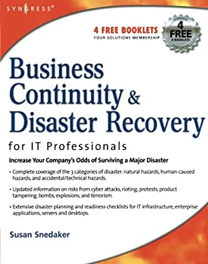 Business Continuity & Disaster Recovery Planning for IT Professionals 9781597491723
