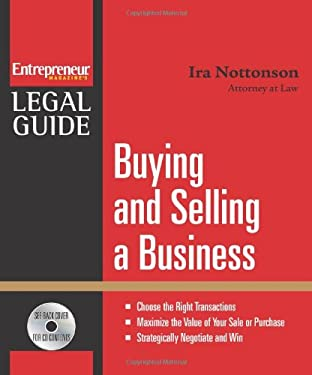 Buying and Selling a Business [With CDROM] 9781599181721