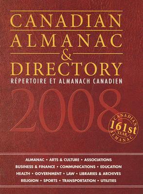 Canadian Almanac & Directory: Repertoire Et Almanach Canadien 9781592372201