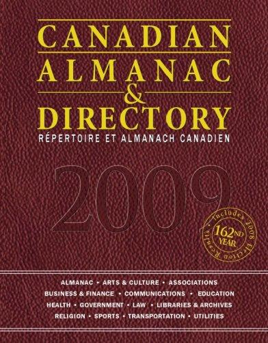 Canadian Almanac & Directory 9781592373703