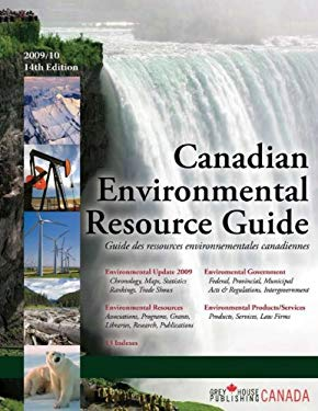 Canadian Environmental Directory 2009 9781592373741