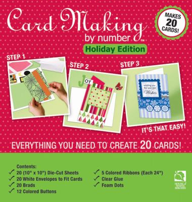 Card Making by Number: Holiday Edition 9781592172672