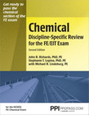 Chemical Discipline-Specific Review for the FE/EIT Exam 9781591260677